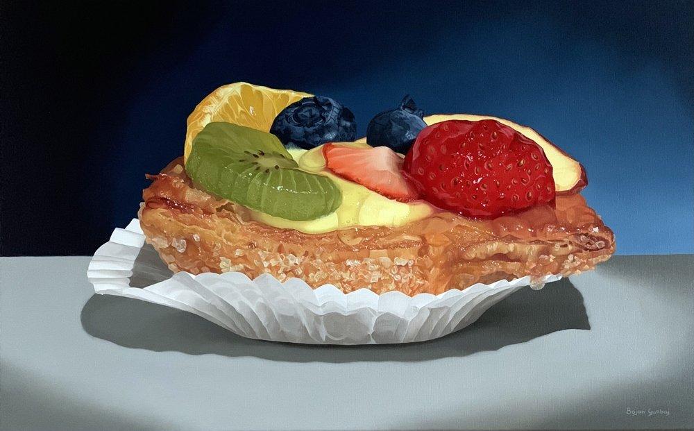 Fruit flan / Vruchtenvlaaitje